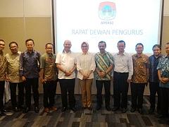 Audiensi ASPARINDO dengan APEKSI (Asosiasi Pemerintah Kota Seluruh Indonesia)
